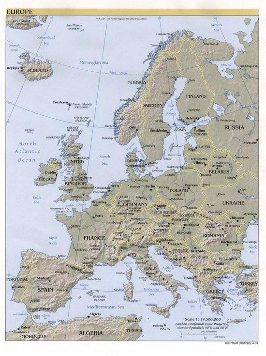 Europa Continente Articulo De La Enciclopedia